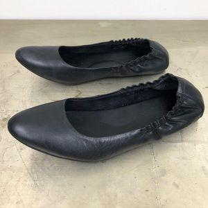 Korks Kork-Ease Julie Almond Toe Leather Flats